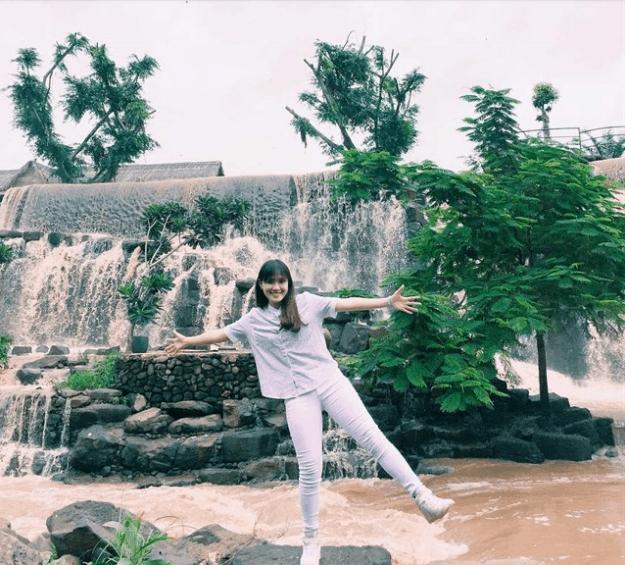 khu du lịch sinh thái thác đá hàn