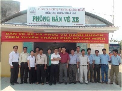 Bến xe Diên Khánh (Ảnh ST)