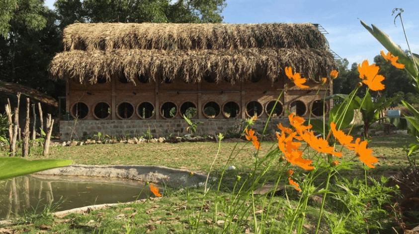 The Birdhouse Phú Quốc có lối kiến trúc độc đáo, giản dị
