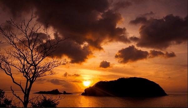 Hoàng hôn ở Côn Đảo
