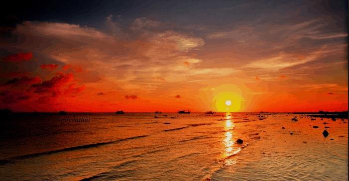 Cảnh hoàng hôn không thể bỏ qua ở Phú Quý