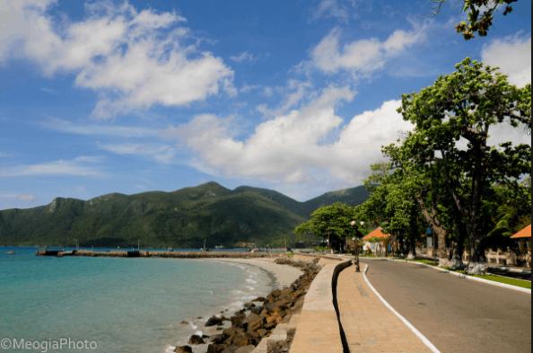 Không khí trong lành trên Côn Đảo
