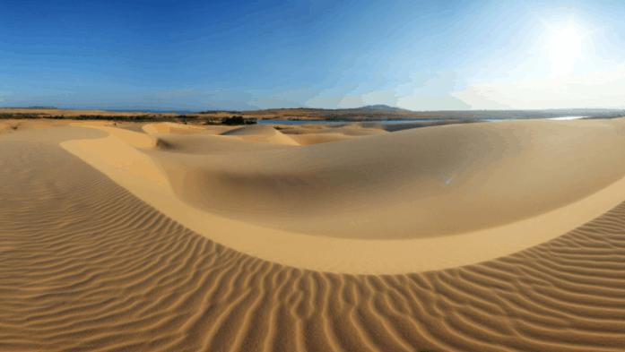 Đồi cát có một không hai ở Việt Nam