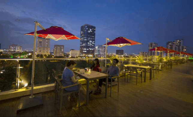 View đẹp từ Romance Restaurant & Cafe