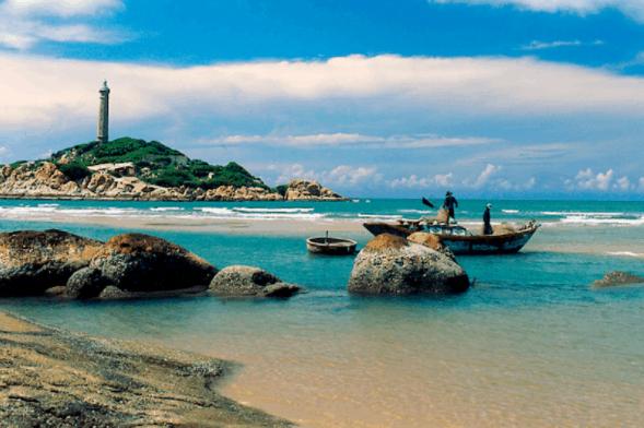 Bình yên trên đảo Kê Gà