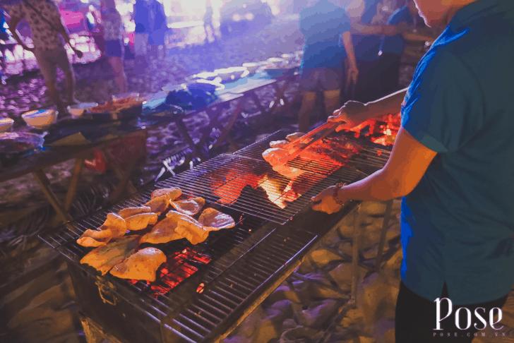 Buffet nướng hải sản ở Coco