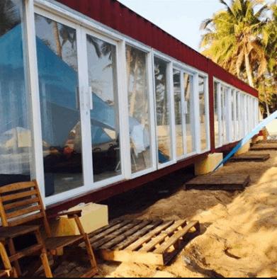 Phòng nghỉ container có điều hòa