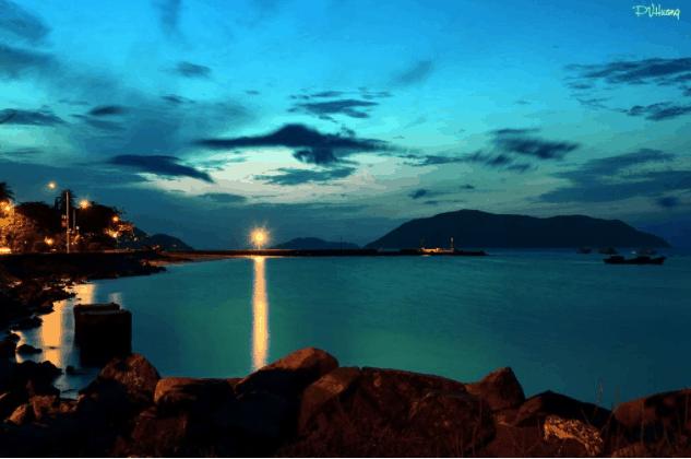 Côn Đảo về đêm bình yên và nguyên sơ