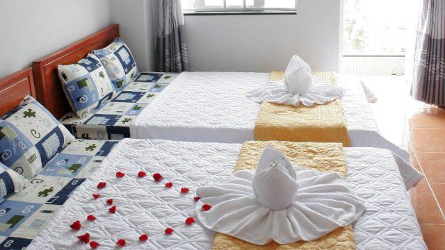Phòng nghỉ được trang trí rất đẹp ở Bảo Khánh Tường (Ảnh ST)