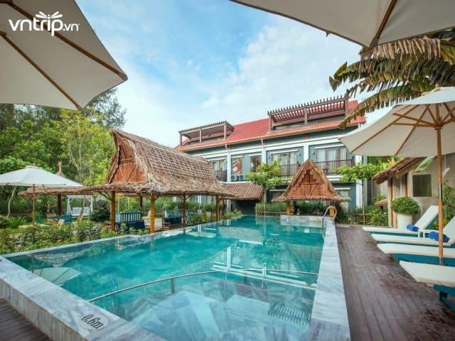 Aira Boutique Hoi An nằm cạnh bãi biển An Bàng, cung cấp các phòng nghỉ tiện nghi, hiện đại, đạt chuẩn 4 sao (Ảnh: Sưu tầm)