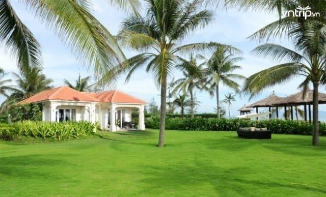 Boutique Hoi An Resort nằm cạnh bãi biển Cửa Đại trong một không gian xanh, yên bình (Ảnh: Sưu tầm)