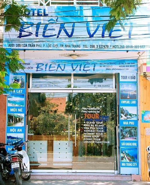 Nhà nghỉ Biển Việt (Ảnh ST)