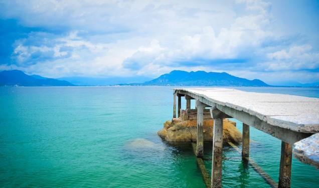 Đảo Bình Lập yên bình khó tả (Ảnh ST)
