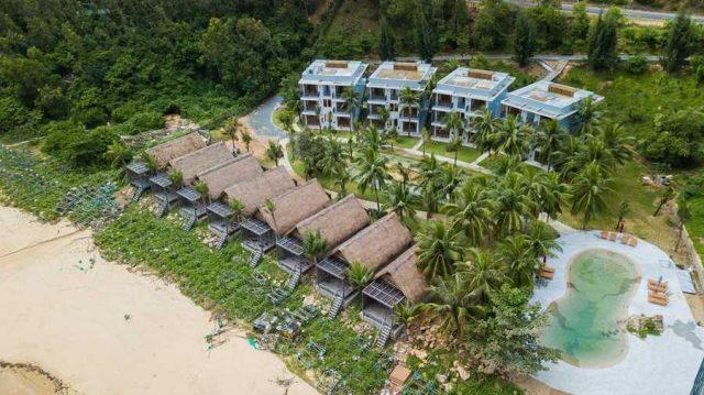 Resort Casa Marina Quy Nhơn từ trên cao (Ảnh ST)