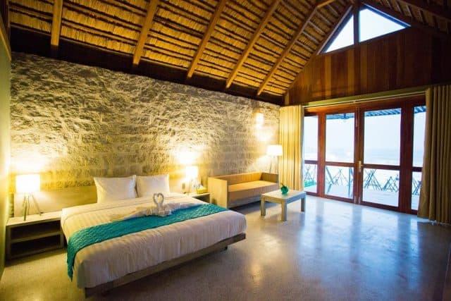Phòng ngủ ấm cúng, hiện đại chỉ có ở Casa Marina (Ảnh ST)