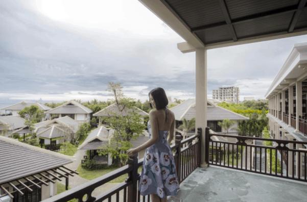 Check-in tại Anja Beach Resort & Spa