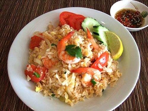 Cơm rang là một trong các món đặc sản Thái Lan (Ảnh ST)