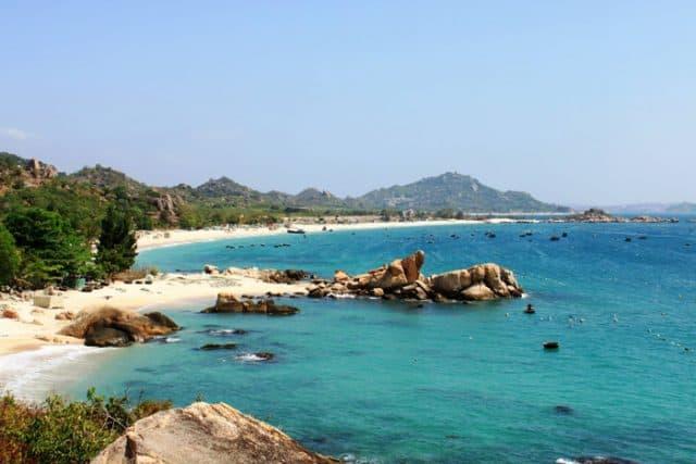 Khung cảnh đảo Bình Ba (Ảnh ST)