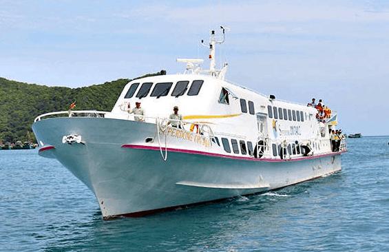 Đi Côn Đảo bằng tàu từ TP HCM