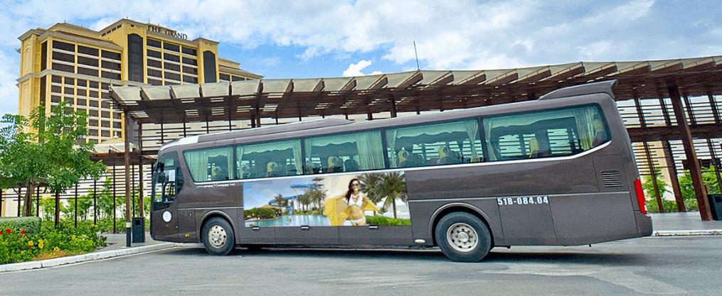 Dịch vụ xe đưa đón khách du lịch tới Grand Hồ Tràm