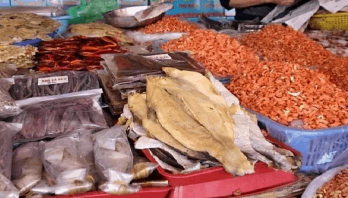 Hải sản khô