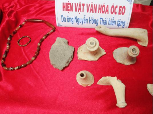 Hiện vật văn hóa Óc Eo