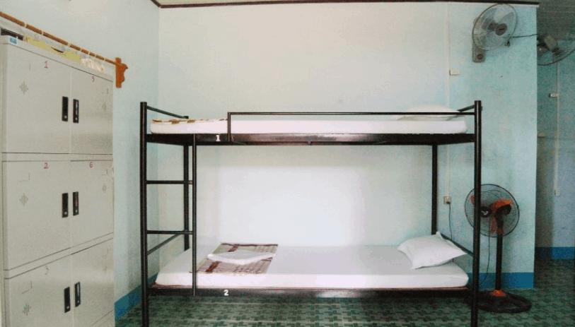 Hình ảnh phòng nghỉ giường tầng tại Sunny Phú Quốc