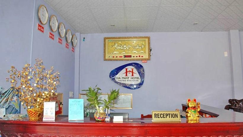 Hình ảnh quầy lễ tân tại nhà nghỉ Hà Phát