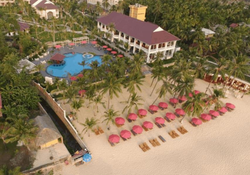 Không gian khu nghỉ dưỡng Richis Beach Resort