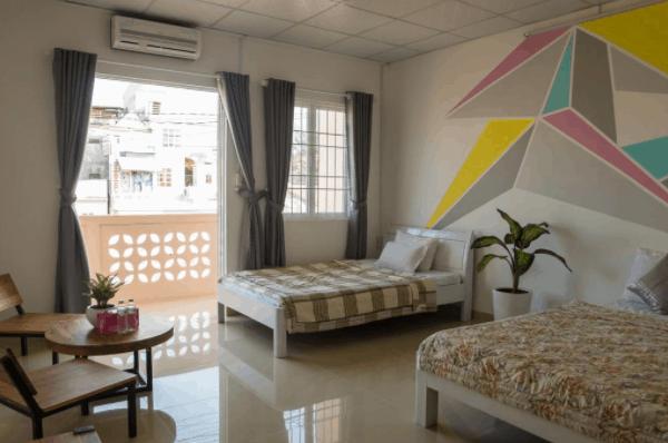Không gian phòng nghỉ tại khách sạn House No.1 - Phú Quốc