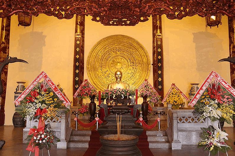Khu thờ chủ tịch Hồ Chí Minh tại văn miếu Trấn Biên