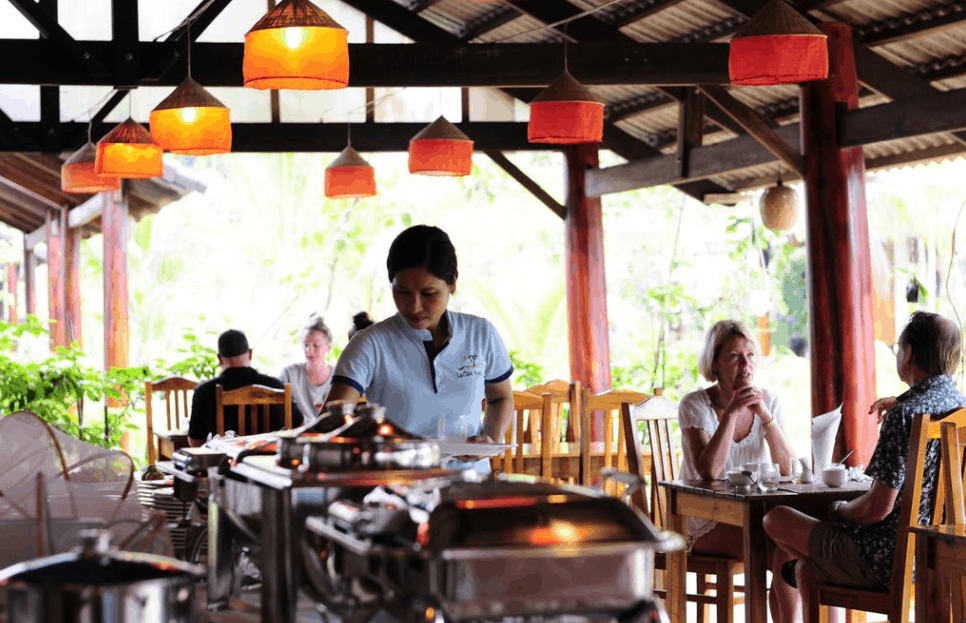 Khu nhà hàng cao cấp tại La Casa Phu Quoc