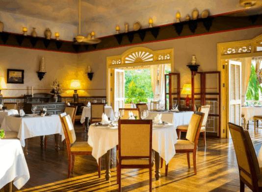 Khu nhà hàng sang trọng, cao cấp tại La Veranda Phu Quoc