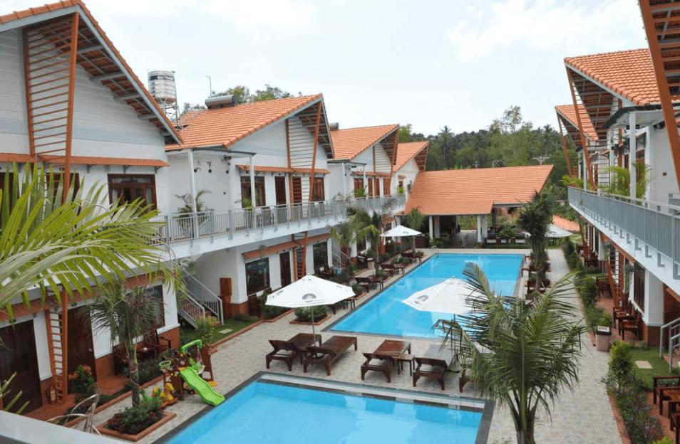 Khu nhà nghỉ tại Camellia Resort