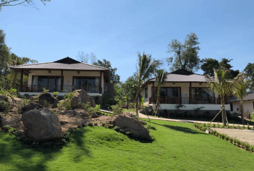 Khu nhà nghỉ tại Resort Camia