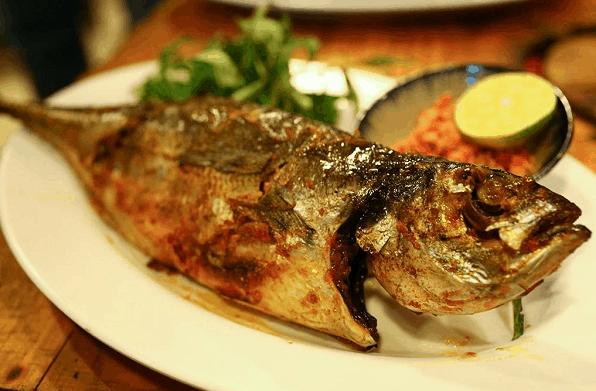 Món cá sòng nướng hấp dẫn