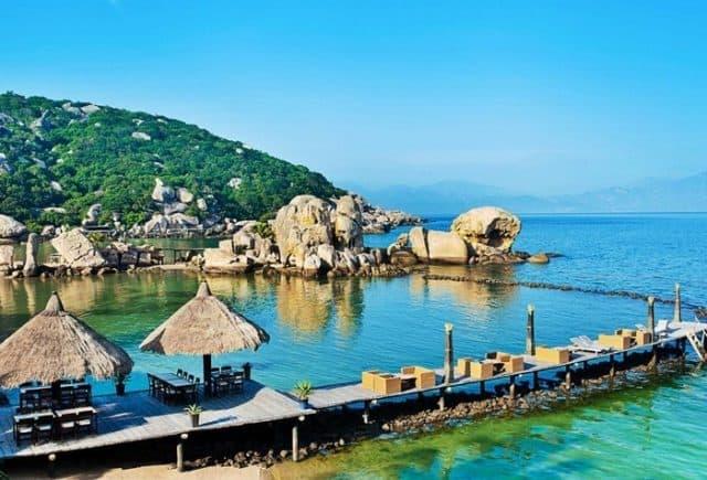 Resort Ngọc Sương nổi tiếng với những cảnh đẹp (Ảnh ST)