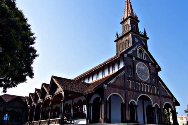 Nhà thờ sở hữu kiến trúc độc lạ (Ảnh ST)
