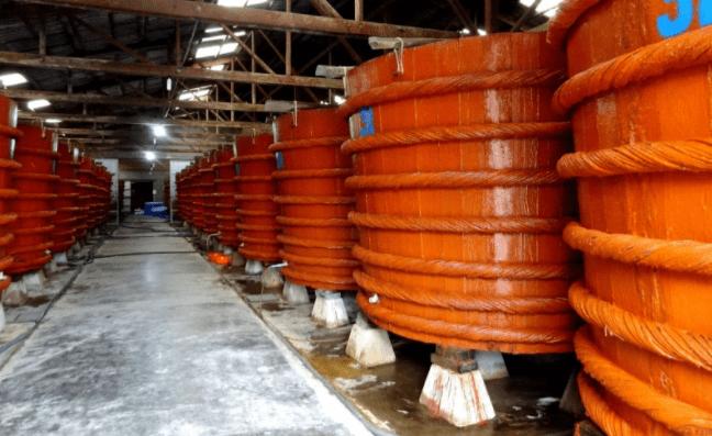 Nhà thùng nước mắm tại Phú Quốc