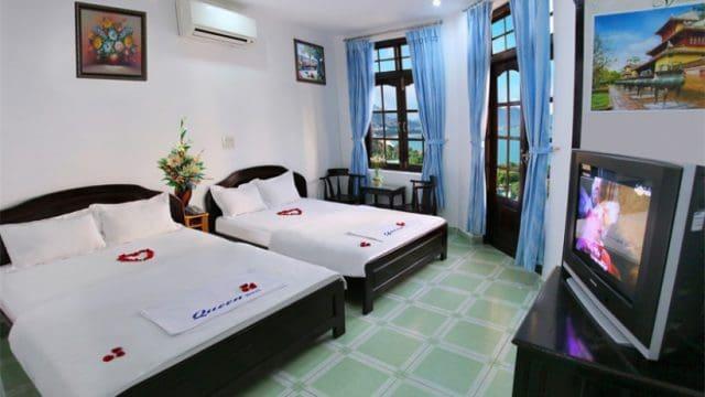 Queen là một trong những nhà nghỉ ở Nha Trang trên đường Trần Phú (Ảnh ST)