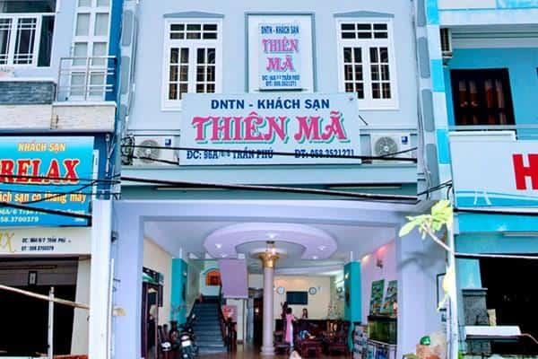 Nhà nghỉ Nha Trang giá rẻ có thể kể đến Thiên Mã (Ảnh ST)