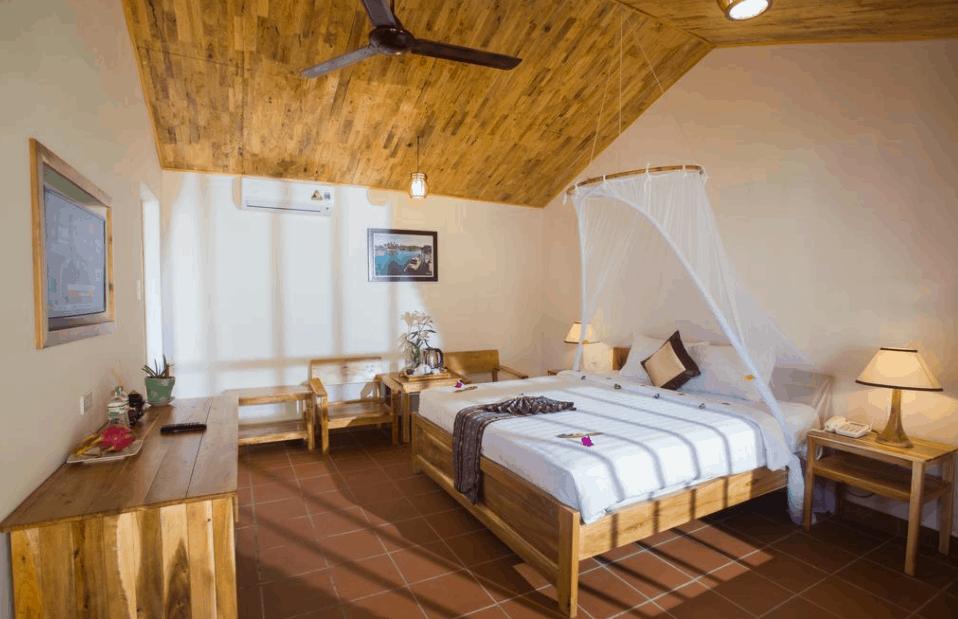 Phòng nghỉ La Casa Phú Quốc có lối kiến trúc đẹp