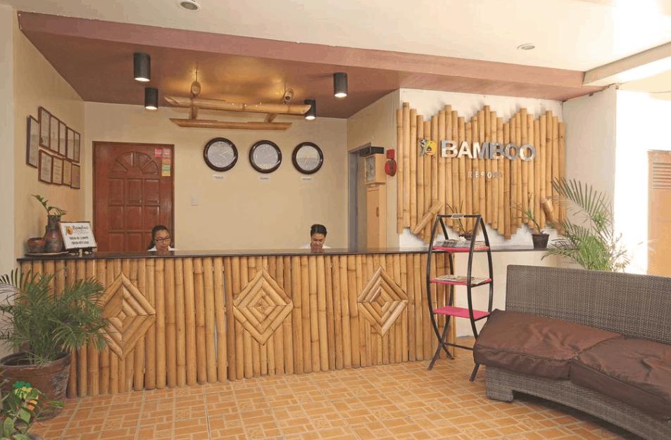 Sảnh đón khách tại BamBoo resort