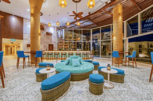 Sảnh resort Sol Beach House
