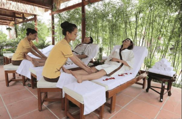 Tận hưởng dịch vụ spa tại Galina Phu Quoc
