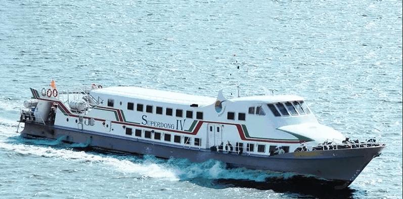 Tàu Superdong đi từ Rạch Giá đến Phú Quốc
