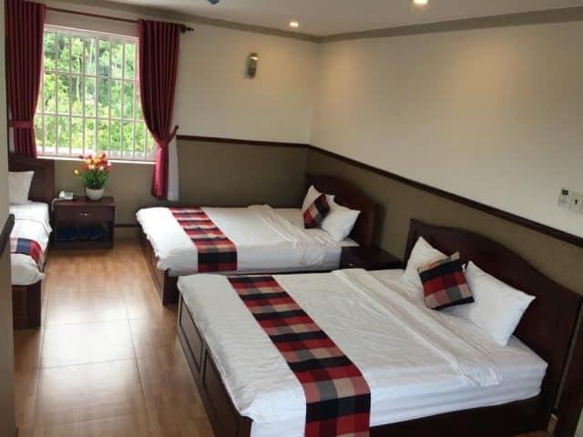 Không gian phòng nghỉ tại khách sạn Thái Hoàng Gia (Ảnh ST)