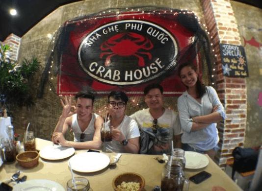 Thưởng thức ghẹ ngon Phú Quốc tại Crab house