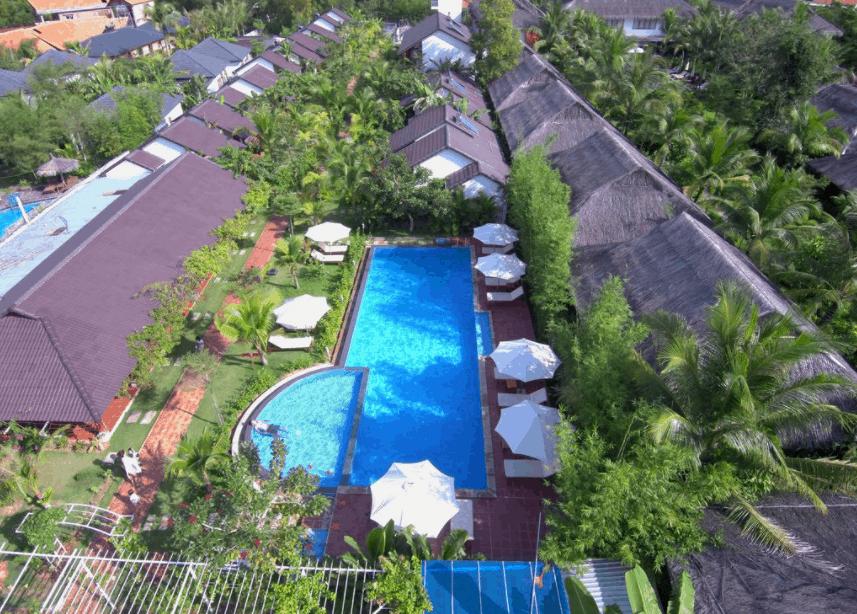 Toàn cảnh khu resort La Casa