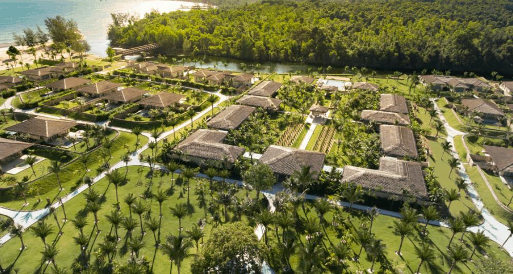 Toàn cảnh khuôn viên Fusion Resort Phu Quoc